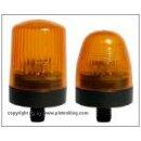 Pistenking Rundumkennleuchte 1:8 Rohrmontage Rund Orange