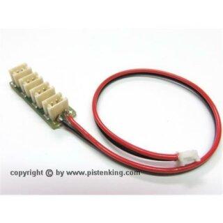 Pistenking Kingbus 4-fach Verteiler mit Kabel
