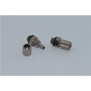 Gerade Schraubverbindung mit Überwurfmutter M5 - 4mm