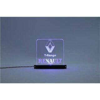 Arcryl Schild Renault T-Range  beleuchtet