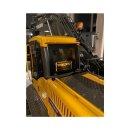Arcryl Schild Volvo Bagger beleuchtet