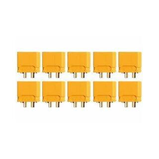 XT60U Stecker Goldkontakt einzeln 10 Stück