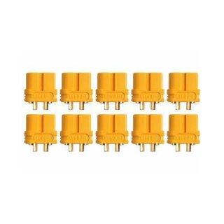 XT60U Buchse Goldkontakt einzeln 5 Stück
