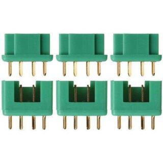 Multiplex MPX Stecker Buchse Goldkontakt paarweise 5 Paare