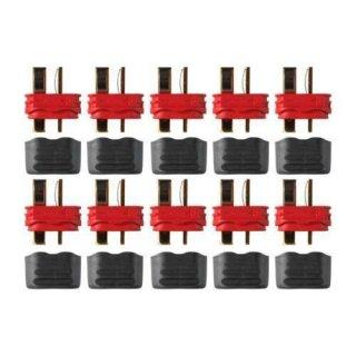 Deans Ultra Plug mit Isolierkappe Stecker einzeln 3 Stück