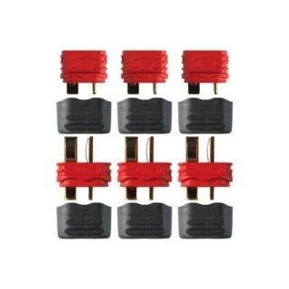 Deans Ultra Plug mit Isolierkappe Stecker Buchse paarweise 5 Stück