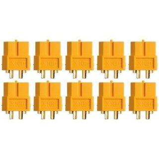 XT60 Buchse Goldkontakt einzeln 10 Stück
