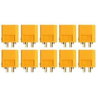 XT60 Stecker Goldkontakt einzeln 3 Stück