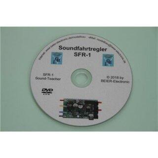 Beier Electronic DVD-Rom für Soundfahrtregler SFR-1