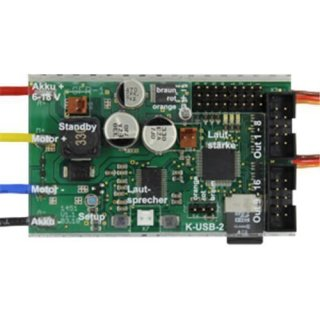 Beier Electronic Doppel-Soundfahrtregler SFR-1-D ohne DVD-Rom & Anleitung