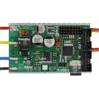 Beier Electronic Doppel-Soundfahrtregler SFR-1-D mit DVD-Rom & Anleitung
