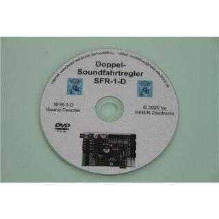 Beier Electronic DVD-Rom für Doppel-Soundfahrtregler SFR-1-D