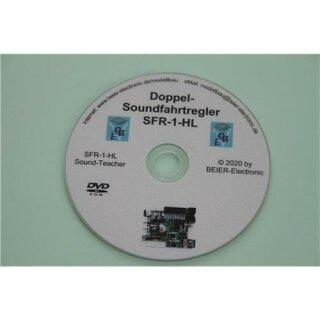 Beier Electronic DVD-Rom für Doppel-Soundfahrtregler SFR-1-HL