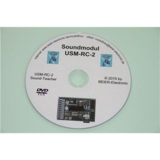 Beier Electronic DVD-Rom für Soundmodul USM-RC-2