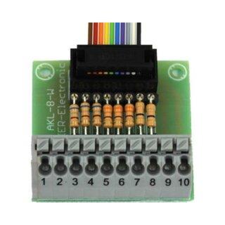 Beier Electronic Anschlussklemme AKL-8-W mit steckbaren Widerständen