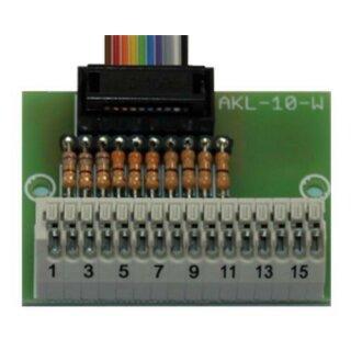 Beier Electronic Anschlussklemme AKL-10-W mit steckbaren Widerständen