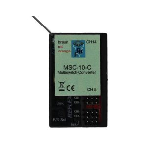 Beier Electronic CARSON Multiswitch-Converter MSC MSC-10-C