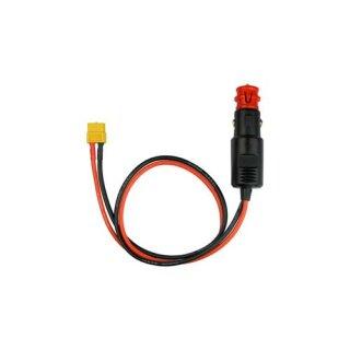 Adapter XT60 Buchse «-» Zigarettenanzünder Stecker 180W