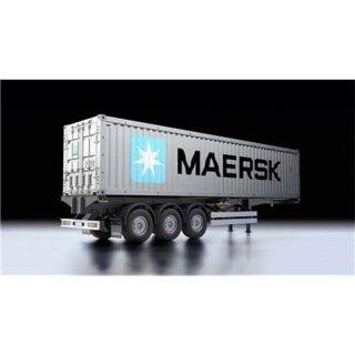 Tamiya 1:14 40ft. Maersk Container Auflieger